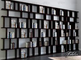 3d Bookshelf Bookshelf 01 3d Model Cgstudio