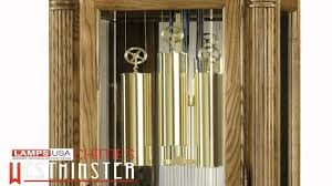 Howard Miller Clock Value Howard Miller Parson Floor Grandfather Clock Chimes 611 072 Youtube