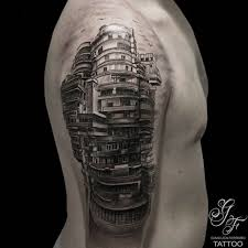 17 beautiful architecture tattoos that will convince you to get