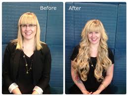 22 inch hair extensions before and after the safest and cheapest hair extension method for short and thin