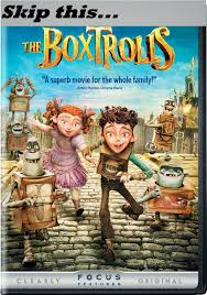 almost unschoolers box trolls skip the move read the book