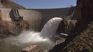 spillway gate test at roosevelt dam youtube