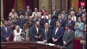 catalonia launches its independence challenge against spain youtube