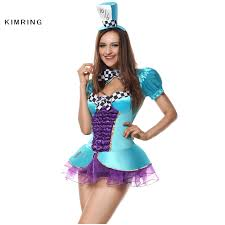 mad hatter halloween costume aliexpress com buy kimring mad