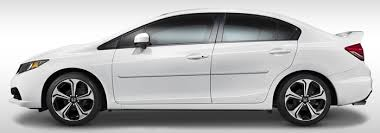 honda civic sedan painted body side moldings 2012 2013 2014