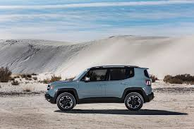 silver jeep renegade 2015 jeep renegade trailhawk side view 741 cars performance