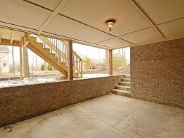 walk out basements custom ranch with walk out basement in geist ja yancey u0026 associates