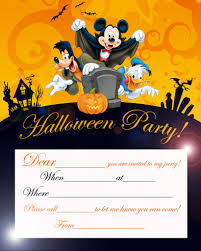 Kids Halloween Birthday Party Invitations by Create Easy Halloween Birthday Party Invitations Templates Designs