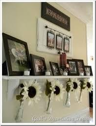 Tin Flower Vases Metal Flower Wall Hanging Foter