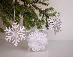 3d snowflakes etsy