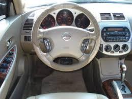 Nissan Altima Black Interior 2003 Nissan Altima 2 5 Sl For Sale Pictures