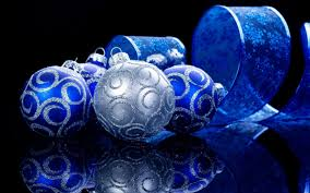 decorations blue and silver decoration image idea