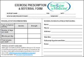 the exercise prescription for enhancing overall health of midlife