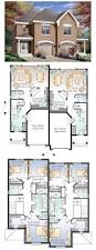 67 best townhouse duplex plans images on pinterest architecture