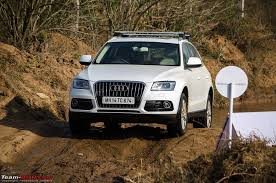 2013 audi q5 facelift launch report drive team bhp