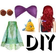 Ariel Costume Halloween Diy Ariel Costume Polyvore
