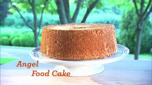 video chocolate angel food cake martha stewart