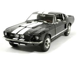 1967 Black Mustang Ford Mustang Shelby Gt 500 Diecast Model Car 1 18 Scale Die Cast