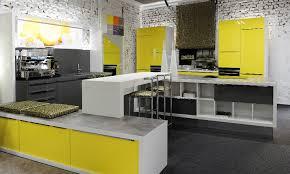küche gelb gardinen klein küchen