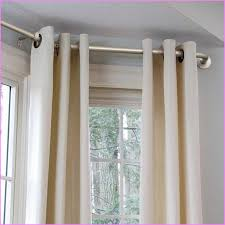 Rods For Bay Windows Ideas Diy Bay Window Curtain Rod Pole Home Rods For Windows Bedroom