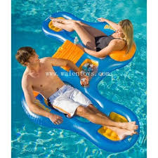 inflatable lounge louge chair pool lounge chair floating chair