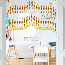 Curtains For Doorways Coffee And Yellow Designed Funky Beaded Curtains For Doorways