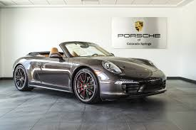 porsche 911 carrera 4s 2014 porsche 911 carrera 4s cabriolet for sale in colorado springs