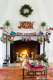 vintage christmas holiday home tour with beautiful christmas decor