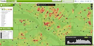 Dallas Area Map by Dallas Crime Map My Blog