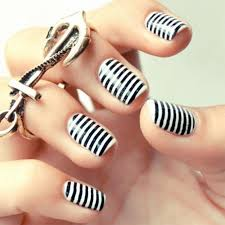25 amazing nail art designs black and white