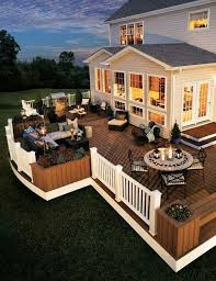 Backyard Deck Pictures by Best 20 Back Deck Designs Ideas On Pinterest Diy Decks Ideas