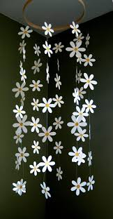 flower mobile paper daisy mobile inspired by pottery barn kids