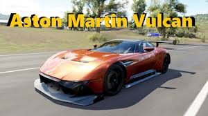 custom aston martin vulcan grand tour episode 2 aston martin vulcan forza horizon 3 youtube