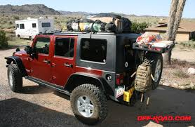 cargo rack for jeep wrangler jeep jk rubicon recycled roof rack road com