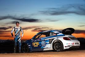 volkswagen beetle race car tanner foust scott speed start 2016 red bull grc race series in