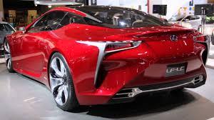 lexus lf lc hybrid concept 2016 lexus lf lc youtube