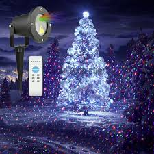 christmas projection lights garden light rgb projection christmas light ip65 waterproof garden