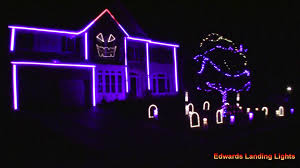 sam the halloween spirit halloween light show 2015 house party by sam hunt youtube