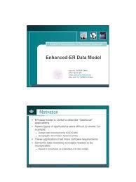eer model handout inheritance object oriented programming