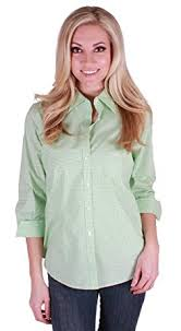kirkland signature womens 3 4 sleeve button blouse at