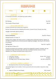 Honors And Awards In Resume College Resume Template For Word