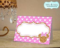 minnie mouse card table view mickey minnie mouse by heartsandcraftsy on etsy