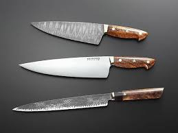 handmade kitchen knives the chef s knife at 300 per inch the bbq brethren