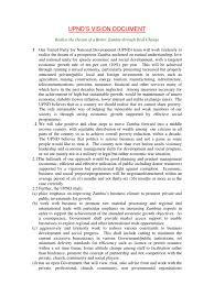 upnd manifesto zambia agriculture