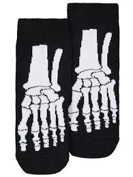 Halloween Skeleton Halloween Skeleton Print Socks Kids George