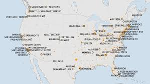 Map Of Missouri Cities Member Cities National Association Of City Transportation Officials