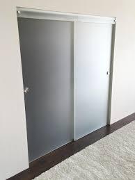 frameless glass sliding doors 2 door sliding frameless glass closet