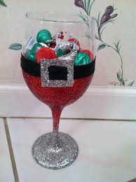 best christmas wine glass decorations christmas decorations