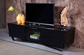 Black Tv Cabinet With Drawers White High Gloss Tv Stand Vg 102 Tv Stands