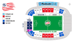 New England On The Map by Seating Chart New England Revolution